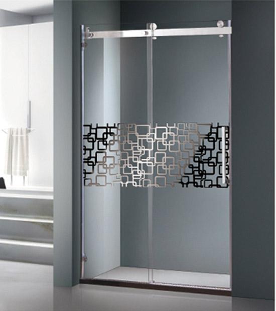 淋浴房钢化玻璃防爆膜